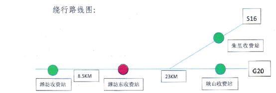 下月起G20青银高速潍坊东站青岛方向出入口封闭三天