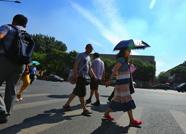 """海丽气象吧丨""""副高""""发威天气闷热 潍坊发布高温黄色预警"""