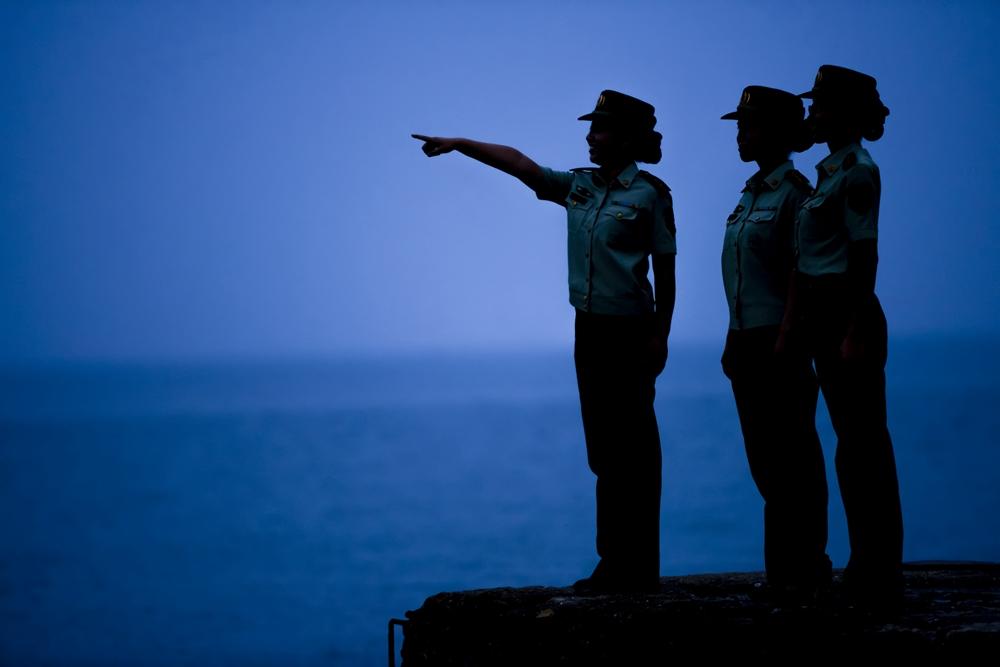 难以割舍的橄榄绿:山东边防民警在海岛的最后一个建军节