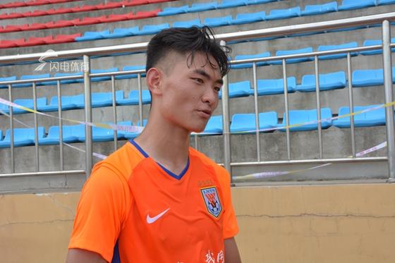 Skr!鲁能小将闪耀潍坊杯  主教练评价他只用了4个词