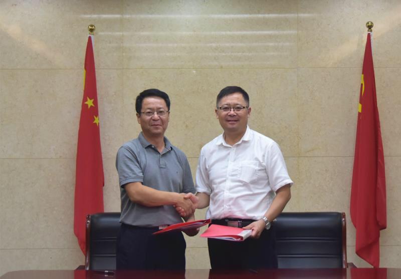 淄博高新区法院与淄博融信融资担保有限公司签订诉讼保全担保合作协议