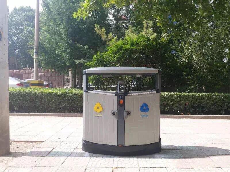 淄博中心城区3100余智能果皮箱陆续投放 8月中旬安装完毕