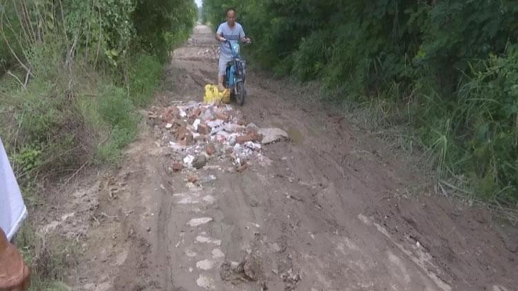 出行难!惠民县村民接修路通知 半年过去还是泥巴道
