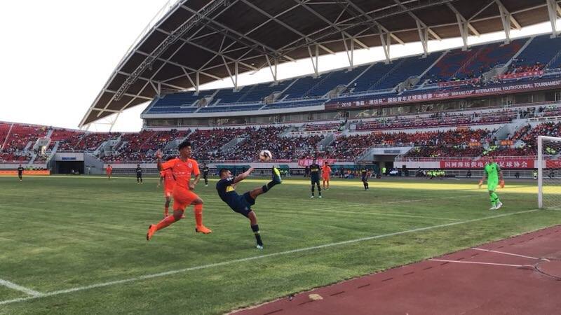 山东鲁能0-3不敌博卡青年 憾失潍坊杯冠军