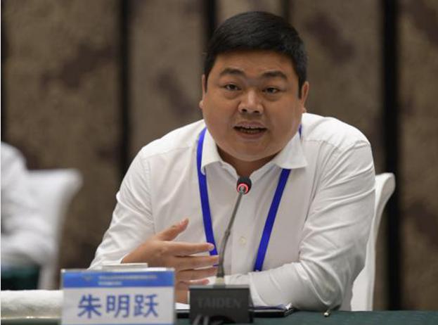 """猪八戒网CEO朱明跃:引入共享经济人才理念,让""""拥有而不占有""""释放人才红利"""