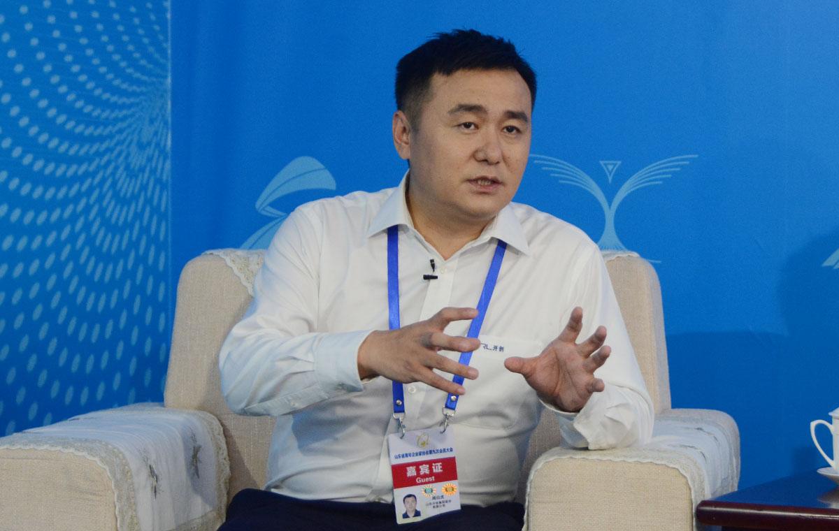 青年企业家峰会访谈|周伯虎:山东急需用新技术新手段助推企业发展