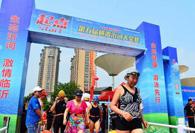 横渡沂河、太极拳展演、篮球赛……临沂市民展现健身风采