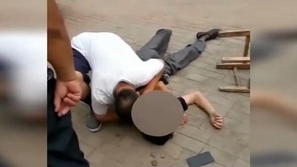 宁津:老人突发心脏病晕倒路边 小区大夫人工呼吸救人