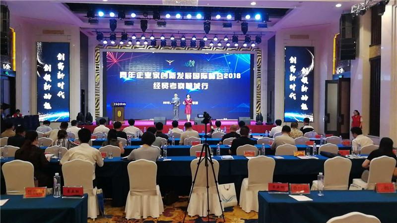 """""""青年企业家创新发展国际峰会2018经贸考察聊城行""""举办"""