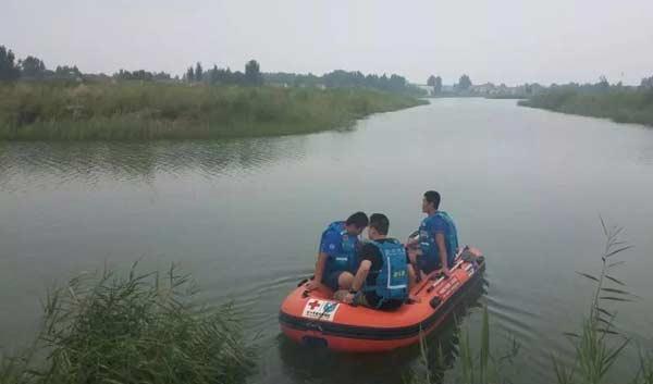 滨州一男子池塘溺亡 疑因钓鱼不慎落水