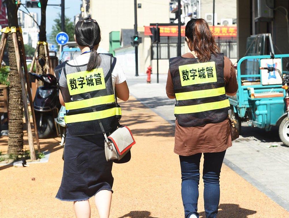 """淄博数字城管信息采集员:烈日下的""""城市眼睛"""""""