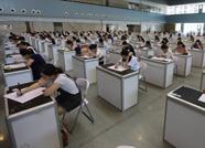 泰安:最美白衣天使护理知识考核开启 200余人同场笔试场面壮观