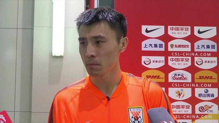 郑铮赛后接受采访:伤已痊愈 还需提升竞技状态