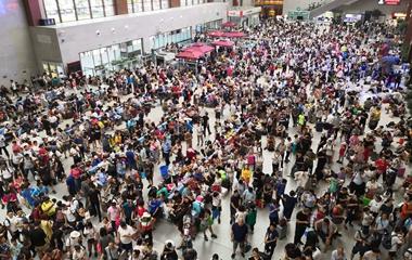 京沪高铁部分列车延误或停运 曲阜东站全面启动应急预案