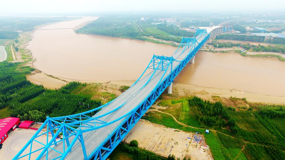 飞吧山东|石济高铁济南首条跨黄河公铁两用桥静态验收 计划年底通车
