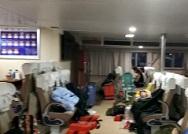 烟台载284人被困客船安全抵达长岛港 看近24小时营救全过程!
