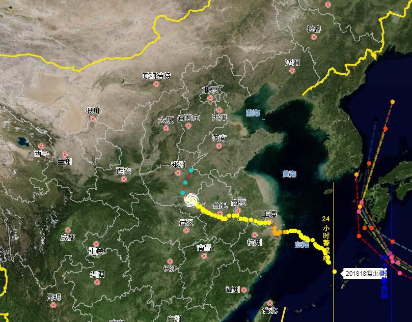 海丽气象吧丨济宁、泰安、临沂、菏泽出现暴雨 局地出现大暴雨