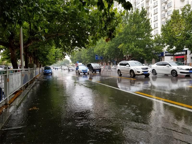 济宁启动城市防汛蓝色预警 全市平均降雨量11毫米