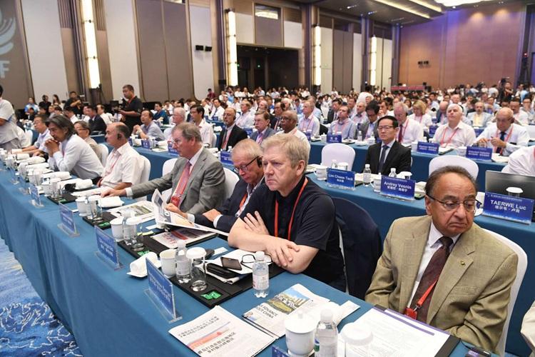 第二届海外院士活动开幕 22国院士齐聚青岛