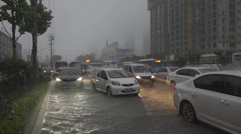 海丽气象吧丨济宁发暴雨红色预警 将防汛Ⅳ级预警升级为Ⅲ级