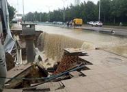 潍坊金马变电站隧道塌陷高压电缆受损 高新区部分区域限电