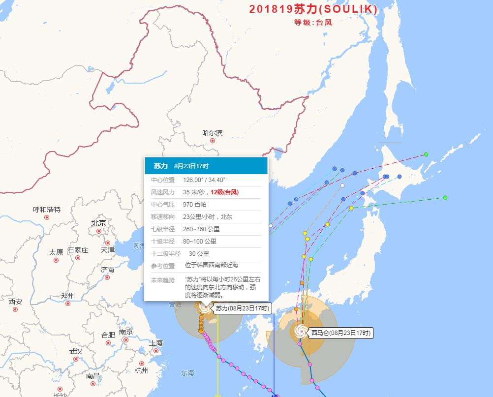 """注意!台风""""苏力""""将给鲁东南和半岛地区带来7~8级阵风"""