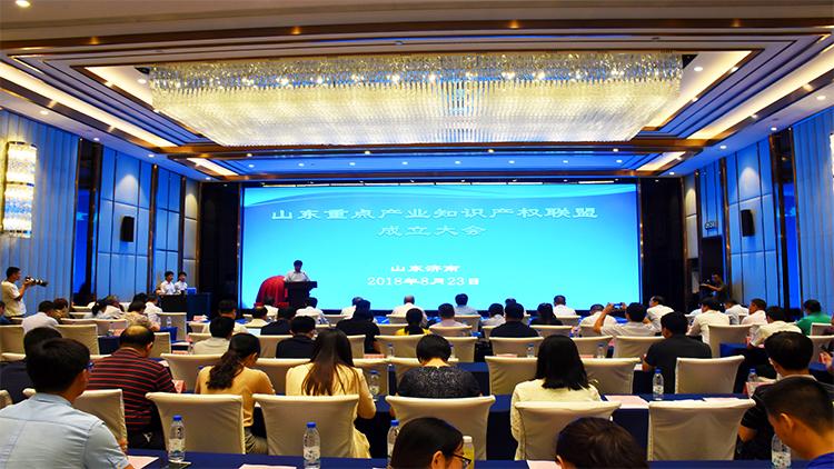 山东重点产业知识产权联盟成立 助力鲁企运用知识产权支撑创新发展