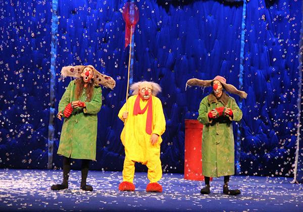 中俄红色交流年系列活动之一《斯拉法的下雪秀》在临沂开演
