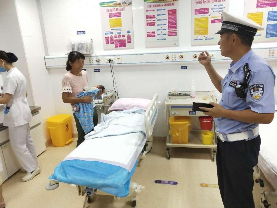 与死神赛跑75公里!青岛5个大队民警接力护送婴儿转院救治