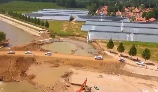 抢险救灾在行动丨潍坊:受灾村庄恢复供电 主干道路全线抢通