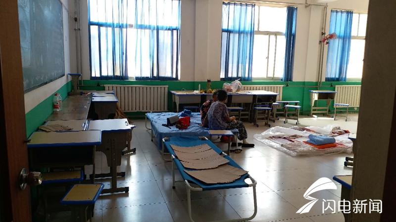 截至8月26日23时 潍坊共设安置点7处紧急转移安置174000人