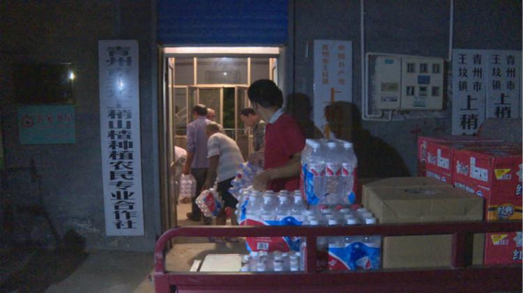 青州灾区村主任连续奋战5天,村民用家里唯一的鸡蛋给他下面