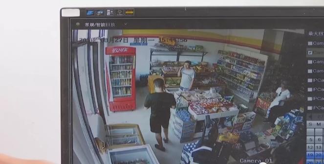 寿光:消防官兵超市买东西 老板坚决不收钱