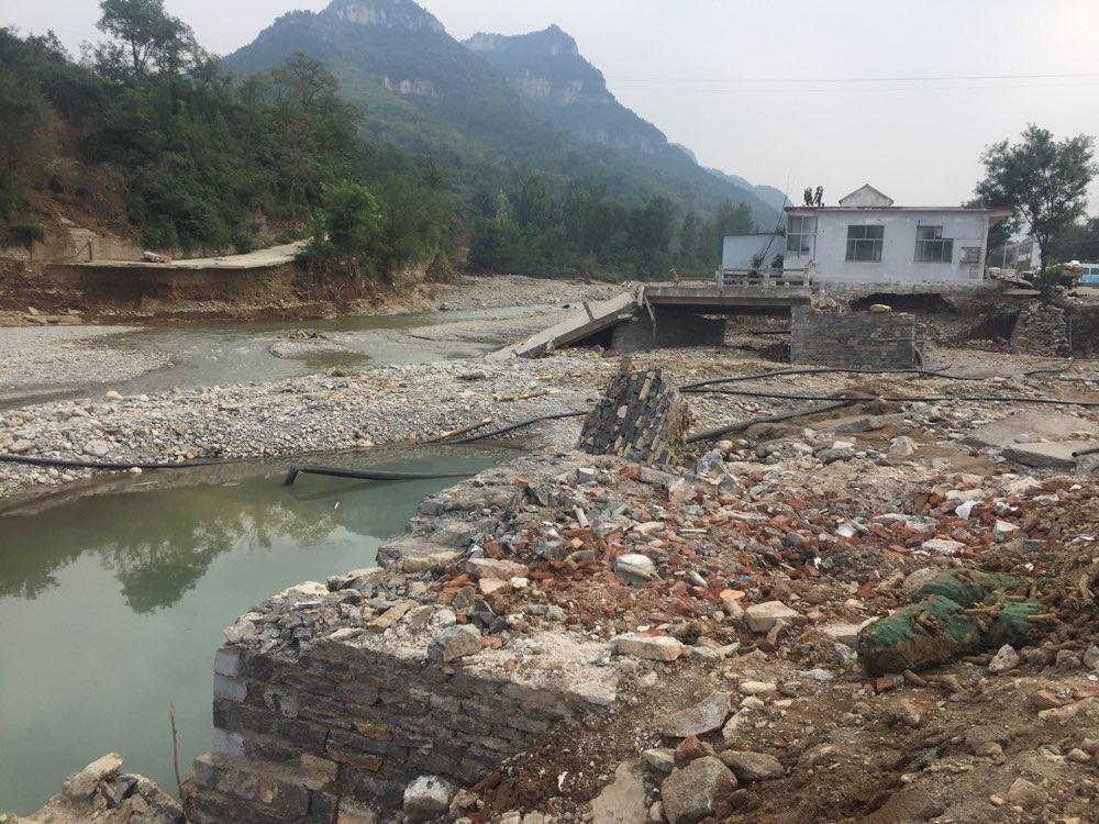 青州涝洼村:村民积极生产自救 重建美丽家园