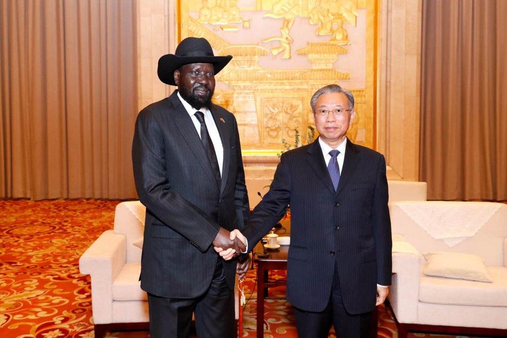 刘家义会见南苏丹总统基尔