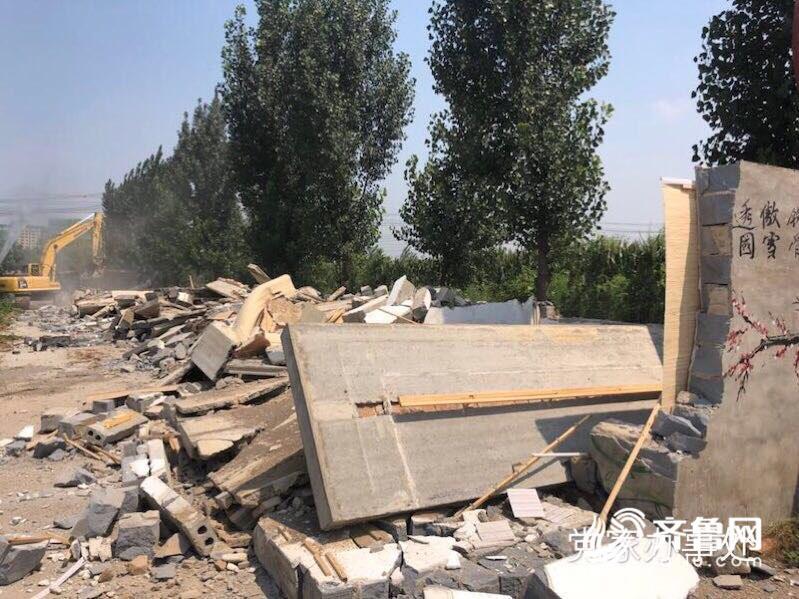 济南市中区三期第二部分台账全面清零 拆除违