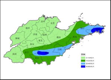 海丽气象吧|9月2日到3日山东将有一次降雨过程 雨季9月4日结束