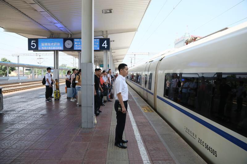 淄博火车站加开调整部分动车组列车(附明细)