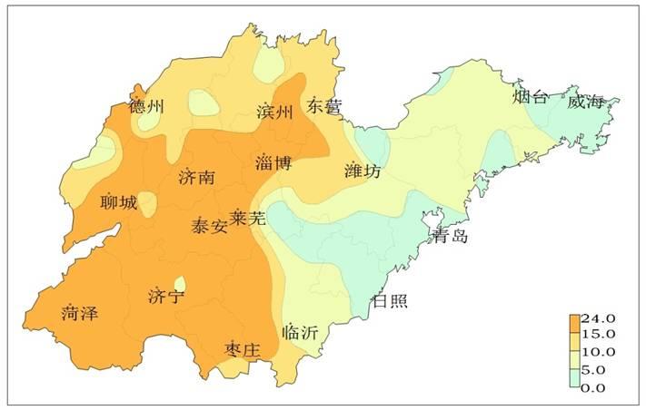 山东:2018年冬小麦适宜始播期接近常年