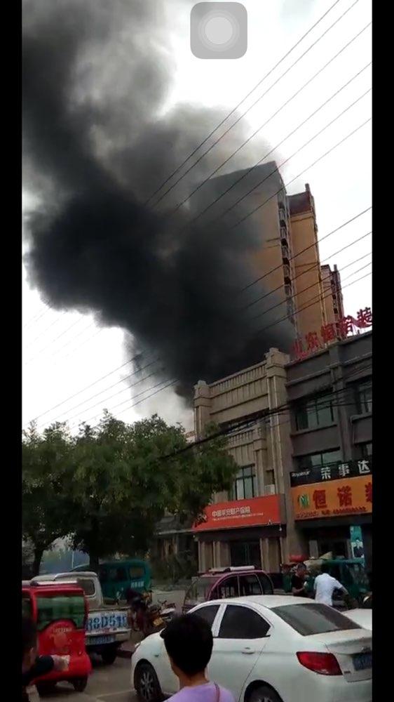 菏泽郓城一餐馆煤气罐泄露发生燃爆事故 轻伤一人