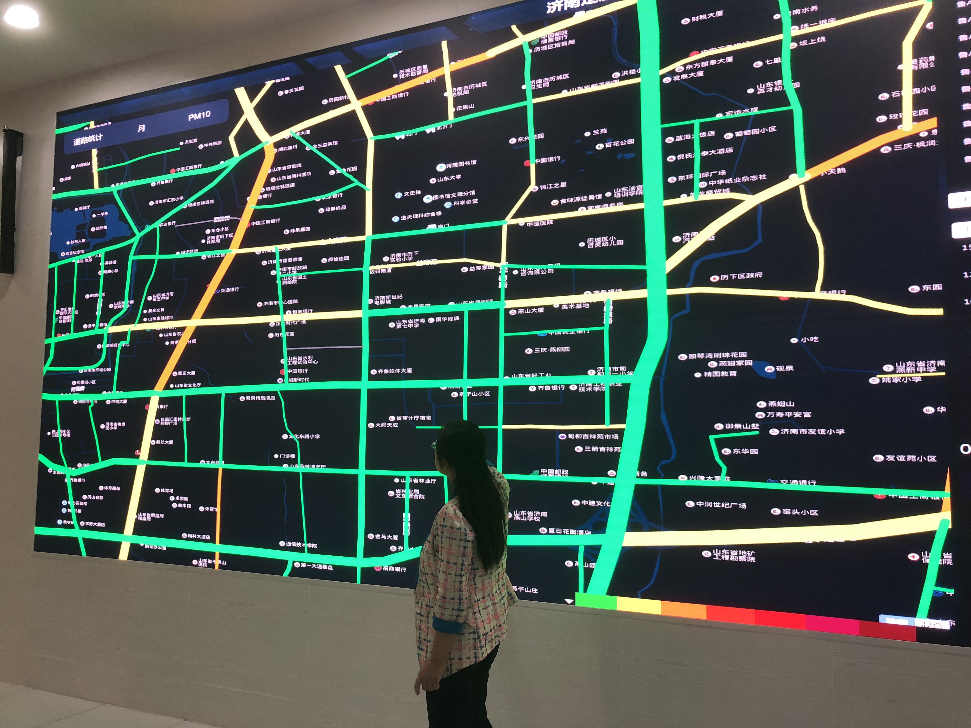 济南新建300辆出租车微型监测站  可进行污染监控和预警