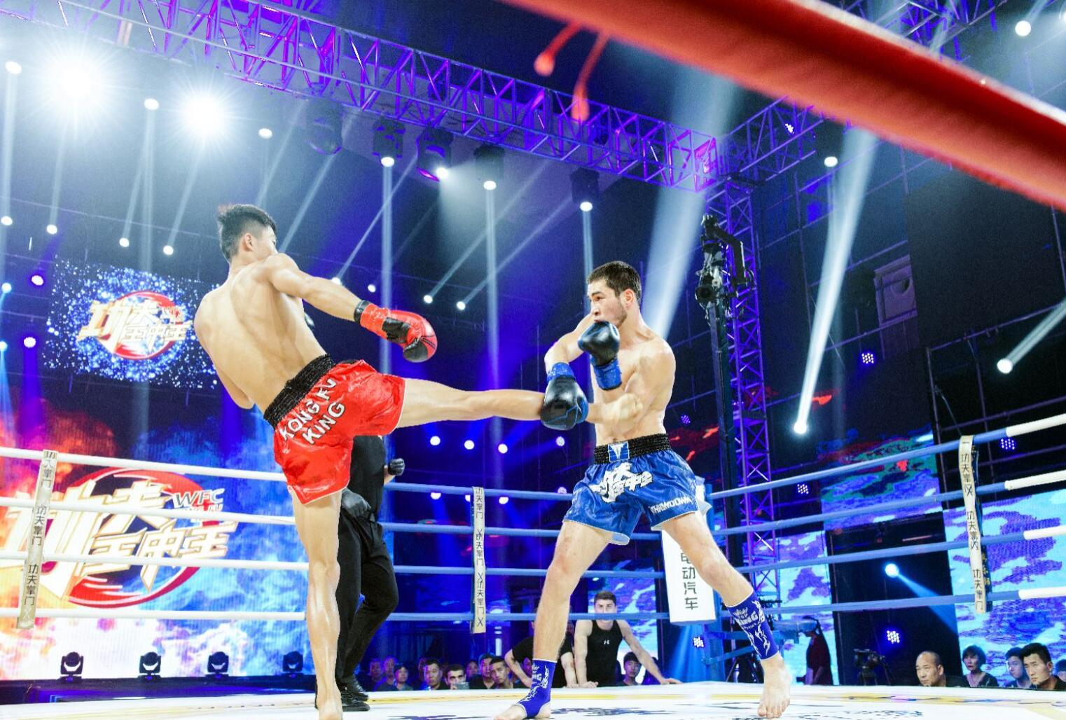 俄罗斯悍将沙里幕汗两次TKO,勇夺《功夫王中王》周冠军