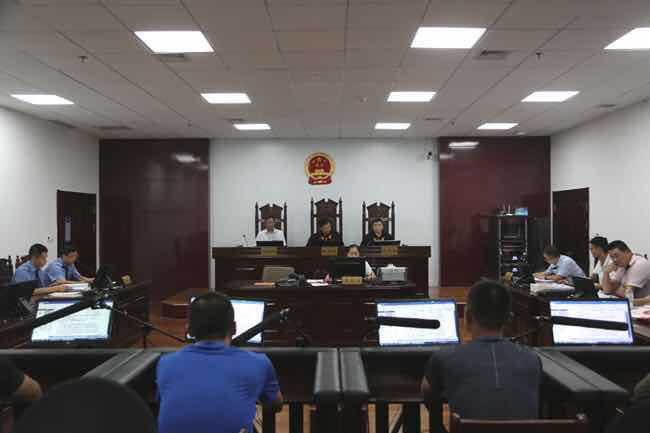 广饶法院公开宣判丁国明等7人寻衅滋事案