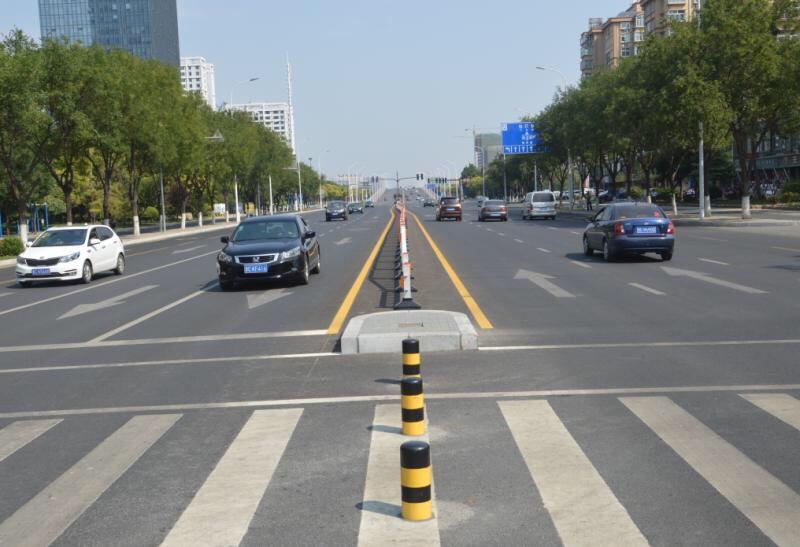 9月底全线竣工在即 淄博柳泉路升级改造工程高新区段开始初验