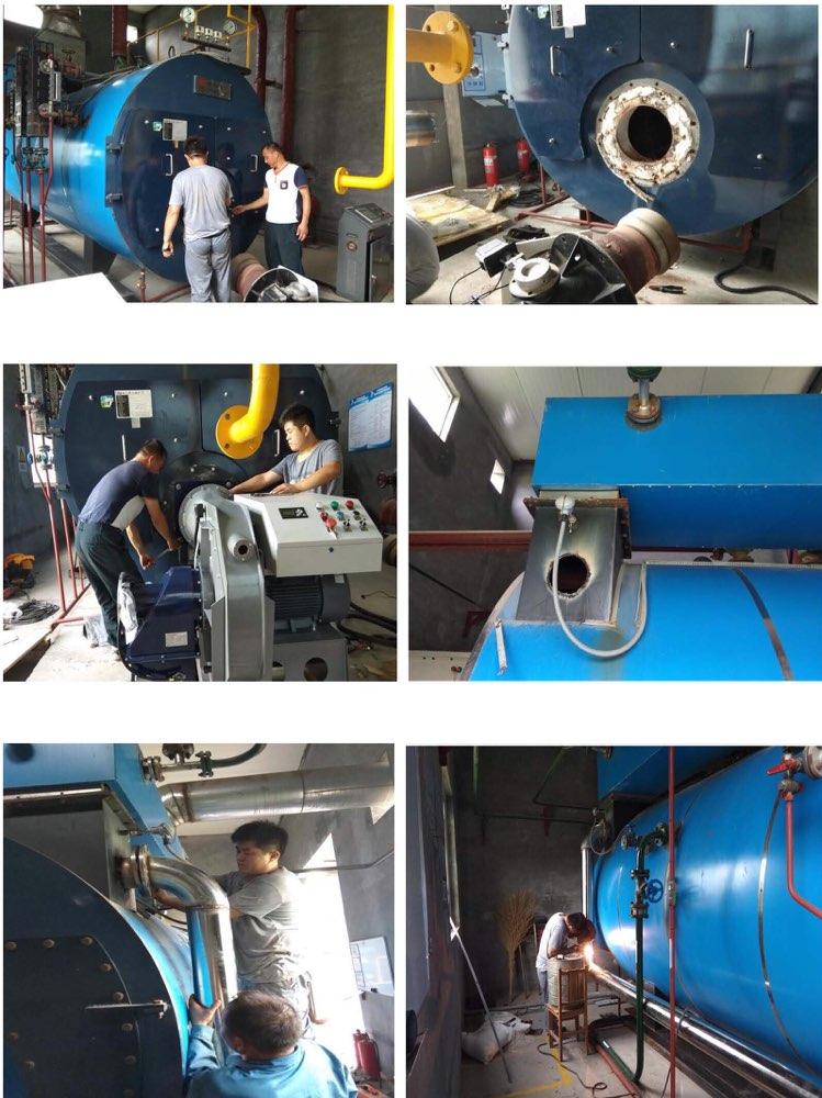 淄博高新区在省内率先开展燃气锅炉低氮燃烧改造