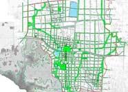 邹平县城区规划绿线控制图公布