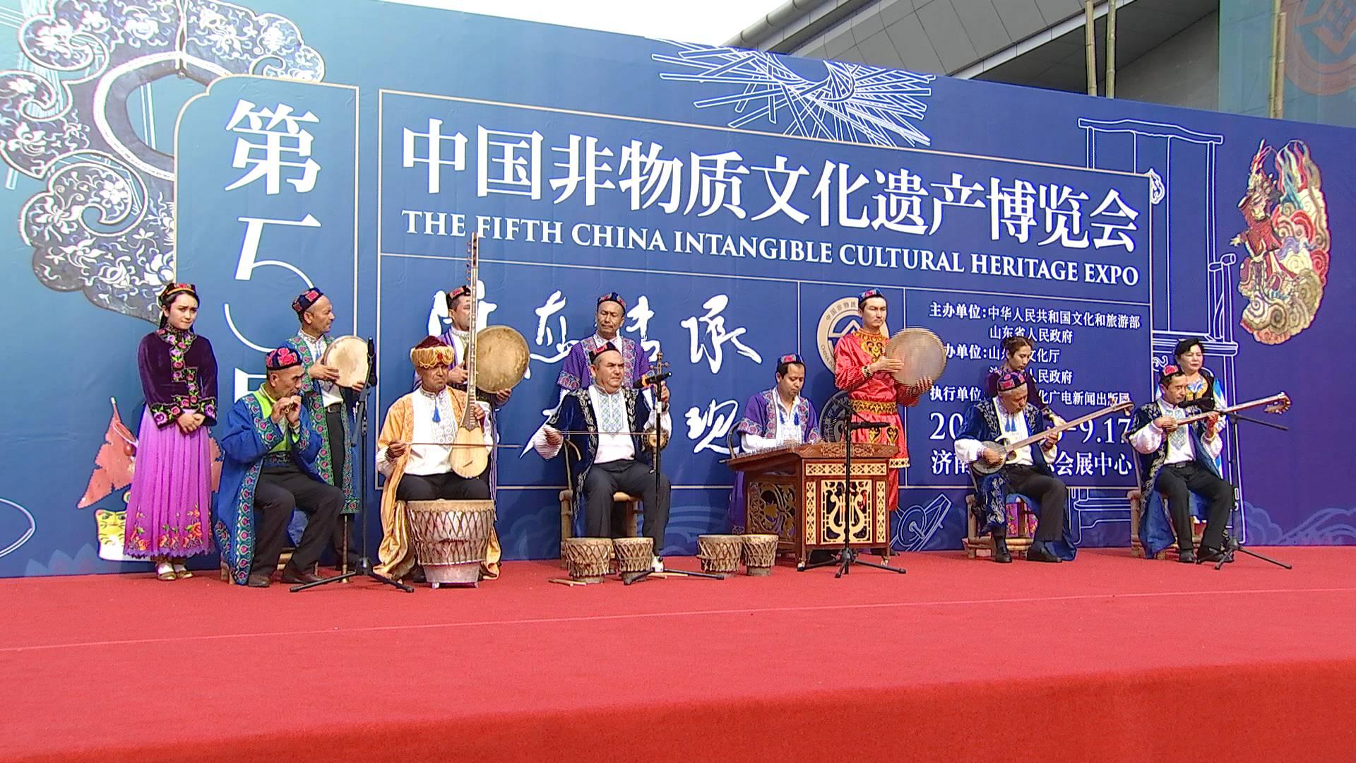 领略匠心魅力 大饱视觉眼福!第五届中国非物质文化遗产博览会盛大开幕