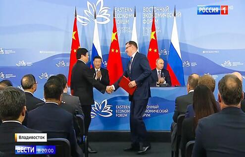 中俄元首见证 潍柴集团与卡玛斯开启战略合作