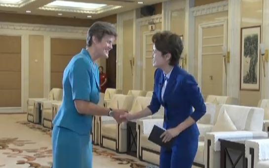 英国驻华大使吴百纳做客山东台《政事面对面》 一起听听她的山东印象
