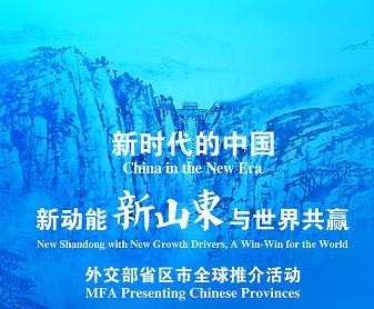 外交部山东全球推介活动官网正式上线!全媒体立体呈现开放新山东